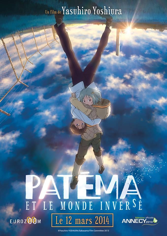 Affiche officielle (française) du film Patéma et le monde inversé