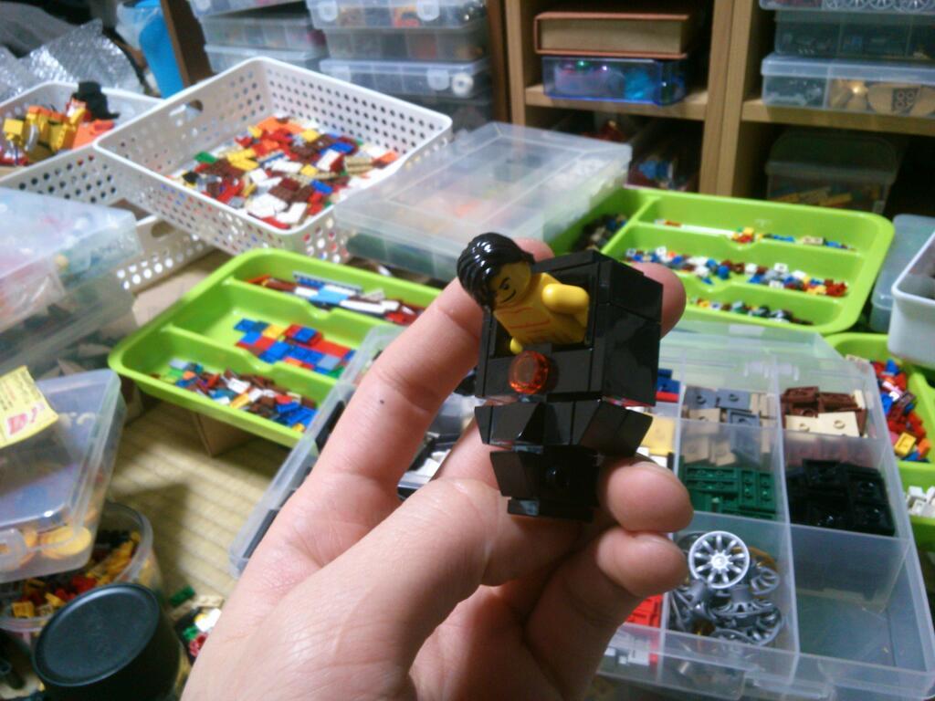 Aikurô et son DTR en version LEGO