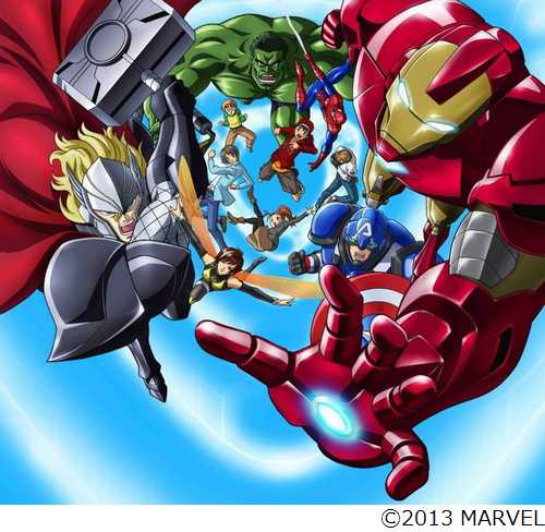 Visuel clé de Disk Wars The Avengers