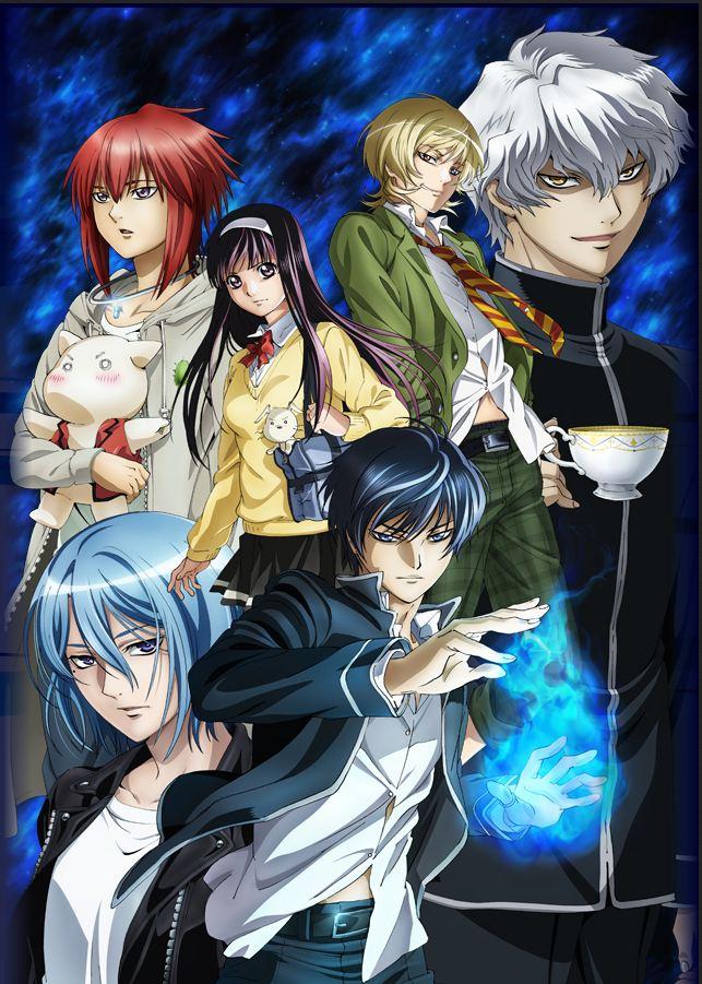 Visuel clé de l'anime Code:Breaker