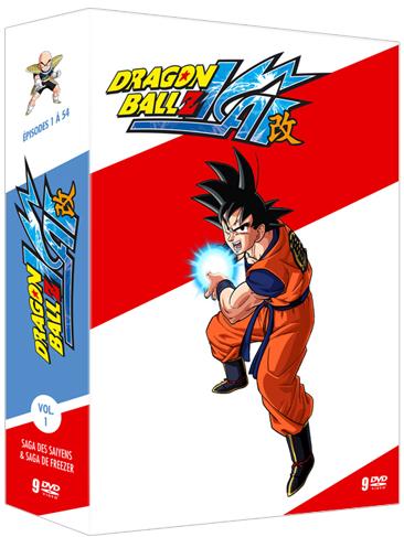Dragon Ball Z Kai Coffret volume 1 (AB Vidéo)