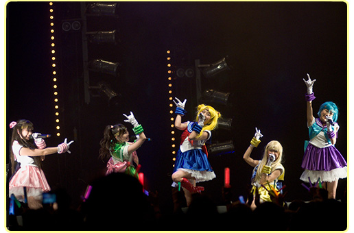 Photo de l'évènement-concert Momoiro Clover Z/Sailor Moon