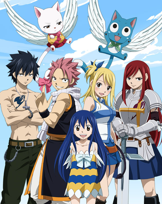 Fairy Tail: Retour de l'anime en 2014