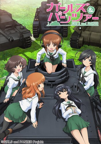 Girls und Panzer key visual