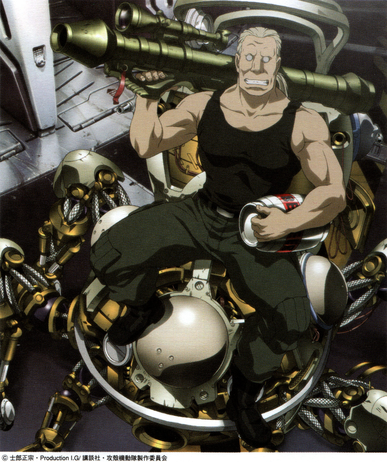 Ghost in the Shell: Visual (GITS: S.A.C)