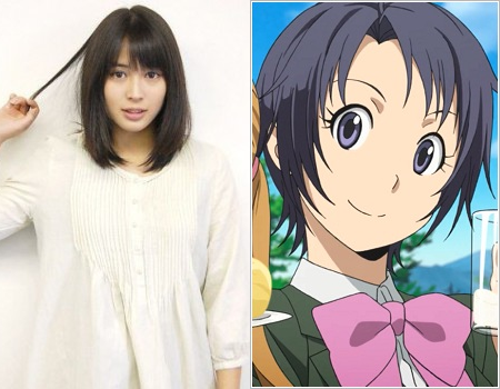 Actrice Hirose / Mikage