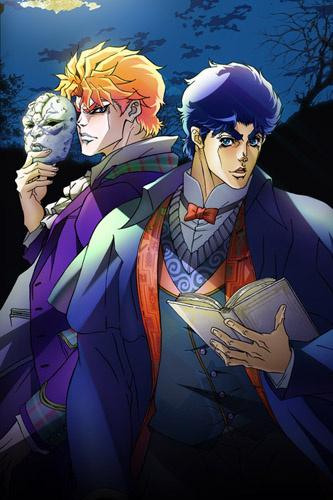 Visuel clé de l'anime Jojo 2012