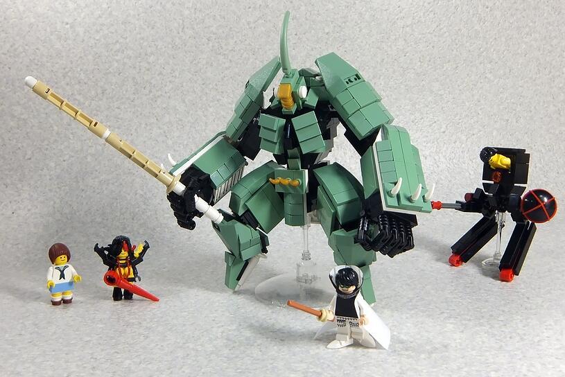 Les personnages Kill la Kill en LEGO !