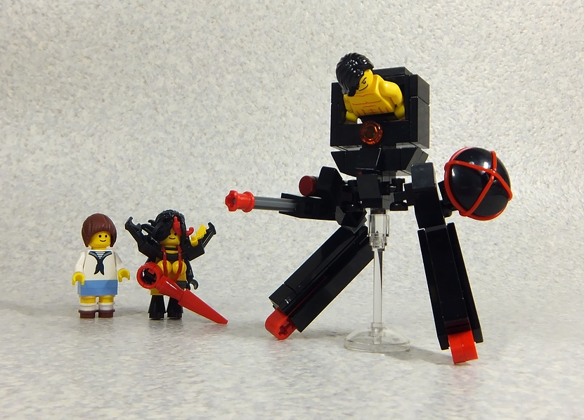 Makô - Ryûko (avec Senketsu) et Mikisugi en LEGO Style :)