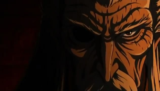 Capture d'écran du teaser de Ninja Scroll Burst
