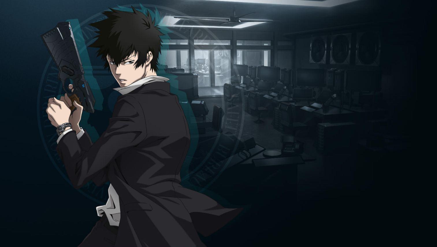Visuel du personnage Kougami Shin'ya de Psycho-Pass