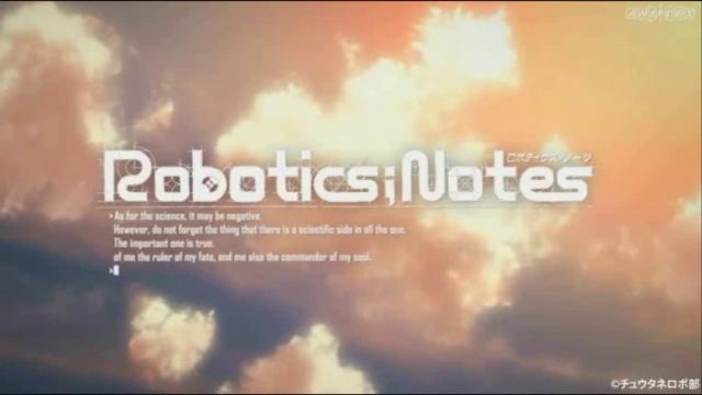 Capture d'écran du nouveau trailer de Robotics;Notes
