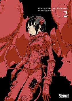 Couverture française du 2nd tome de Knights of Sidonia