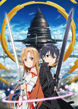 Visuel clé de l'anime Sword Art Online