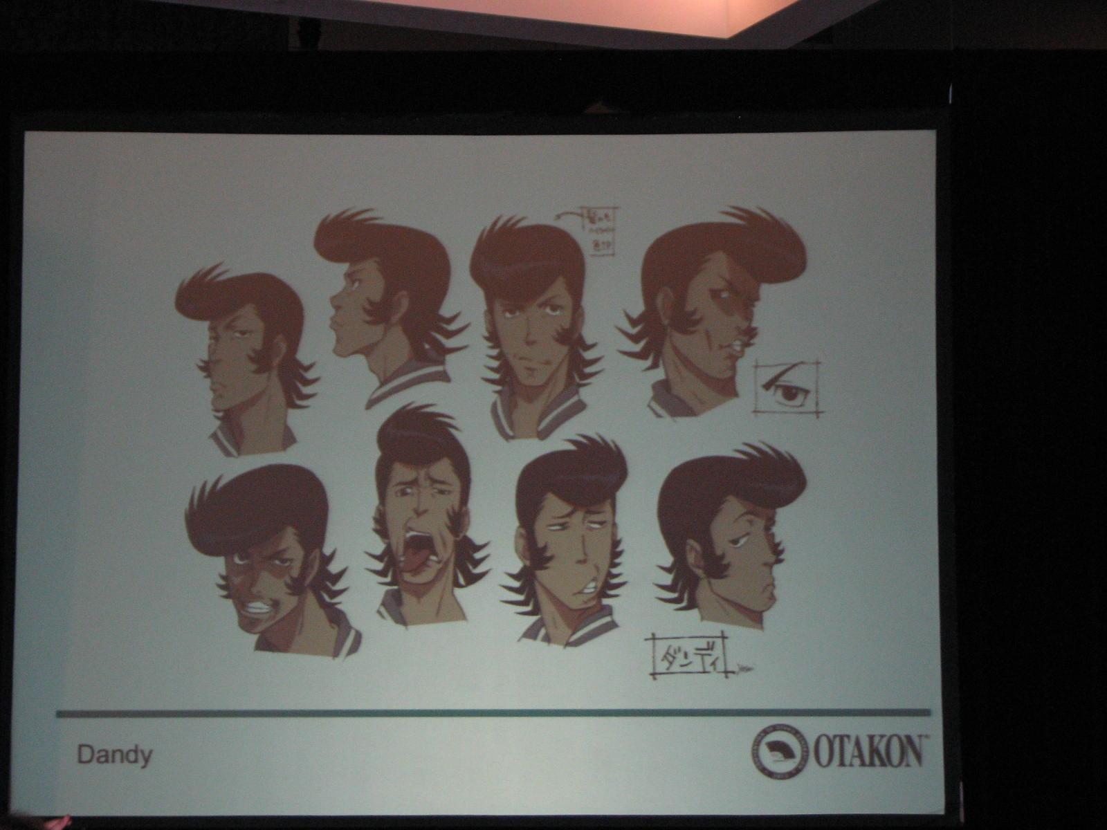 Dandy le protagoniste