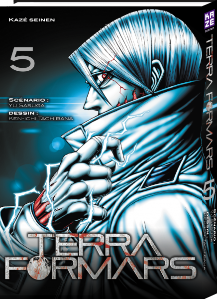 Terra Formars tome 5 - couverture française (Kazé manga)