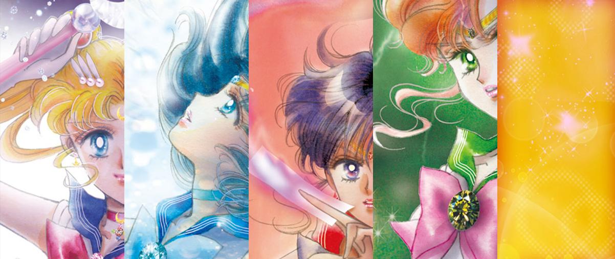 Sailor Moon 20th Anniversary : Visuel clé
