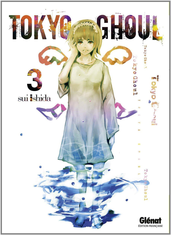 Tokyo Ghoul: couverture française du tome 3 (Glénat)
