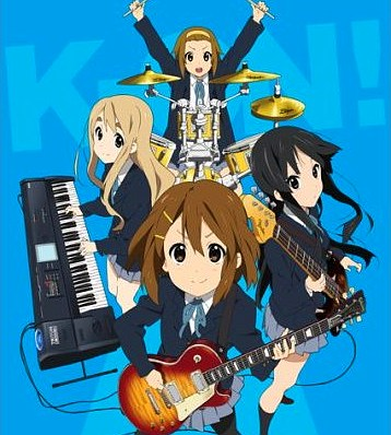 Visuel clé de l'anime K-On!