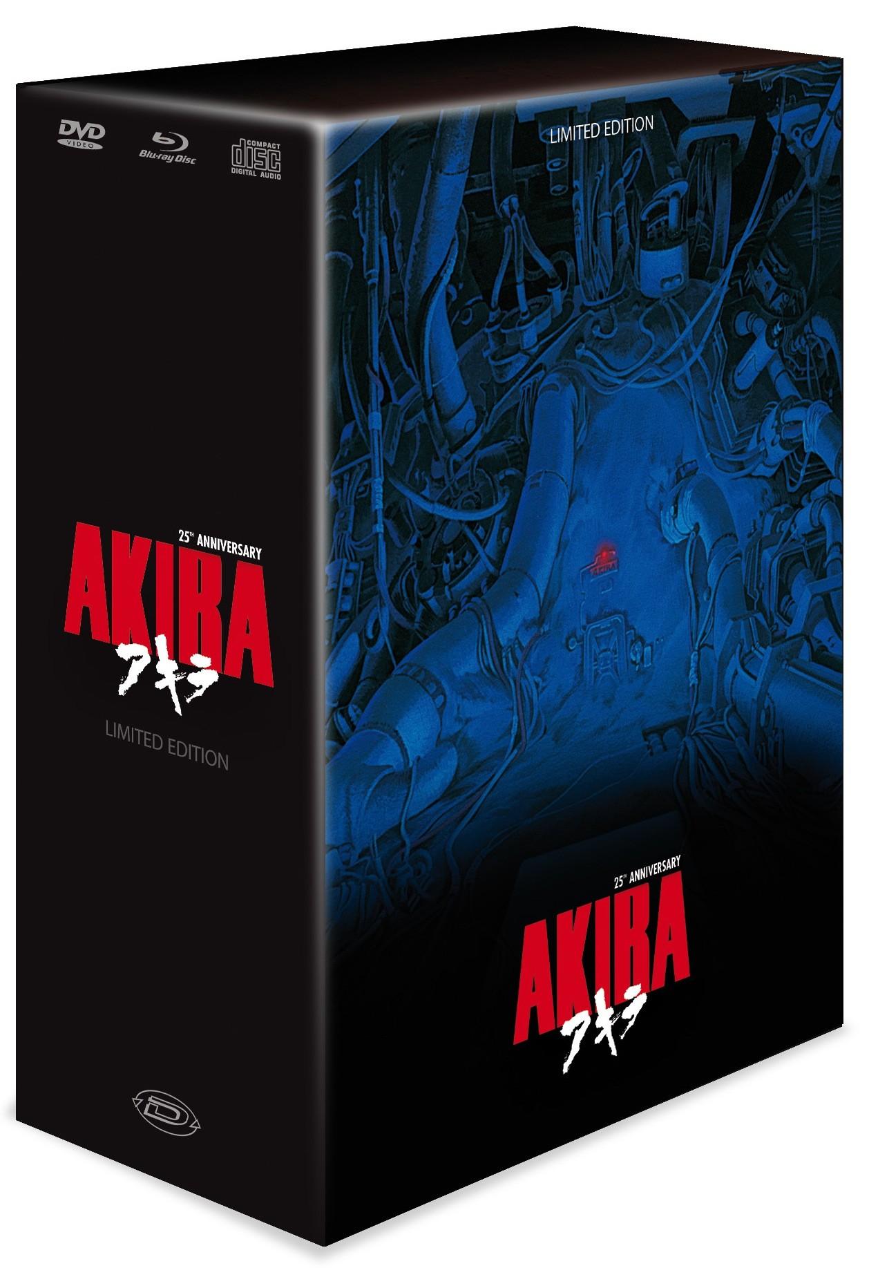 Coffret Akira: édition 25e anniversaire (Dybex)