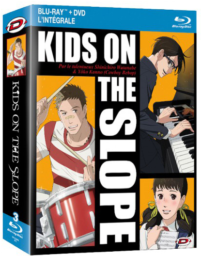 Kids on the slop (combo blu-ray & dvd intégrale)