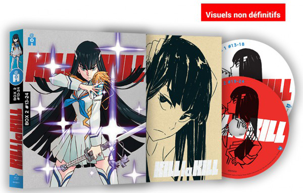 Kill la Kill : BOX 2 visuel