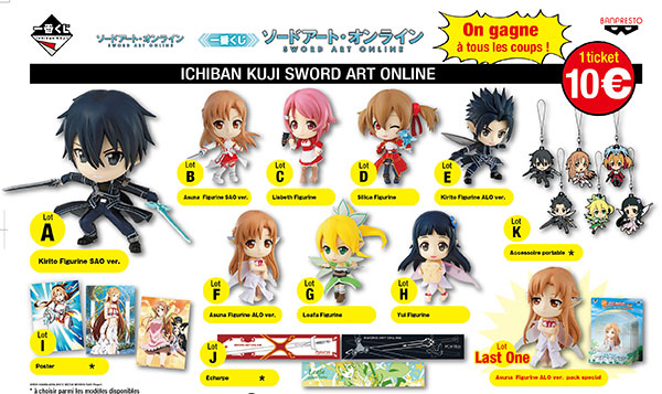 Lotterie Sword Art Online