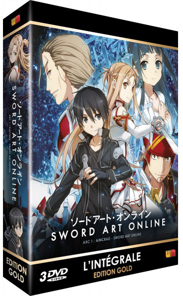 Sword Art Online: Arc 1 (Coffret DVD)