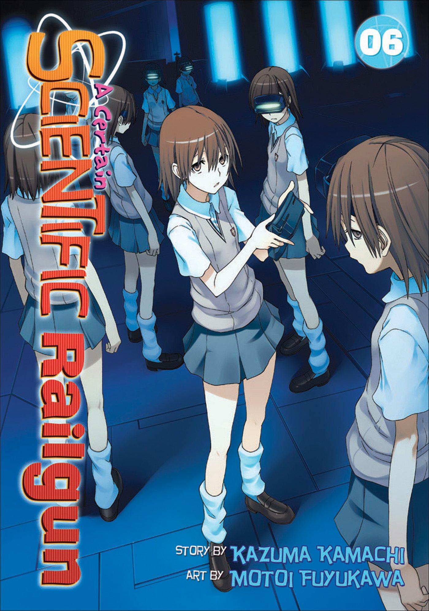 Couverture japonaise du sixième tome du manga Railgun