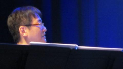 Photo de Tanaka Kouhei durant le showcase