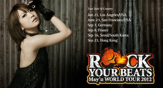 Affiche de la tournée mondiale de May'n