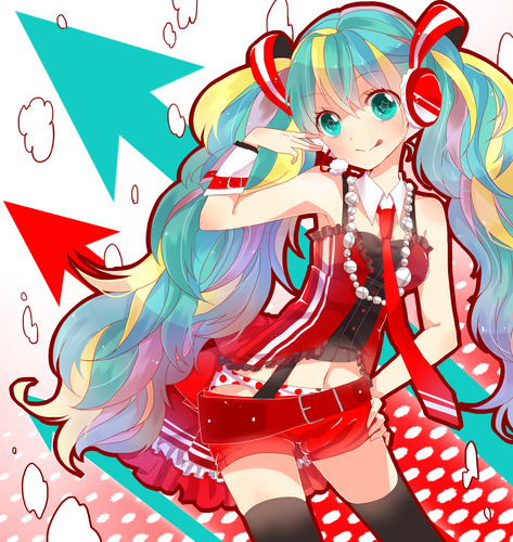 Miku x Coca-Cola illustration gagnante
