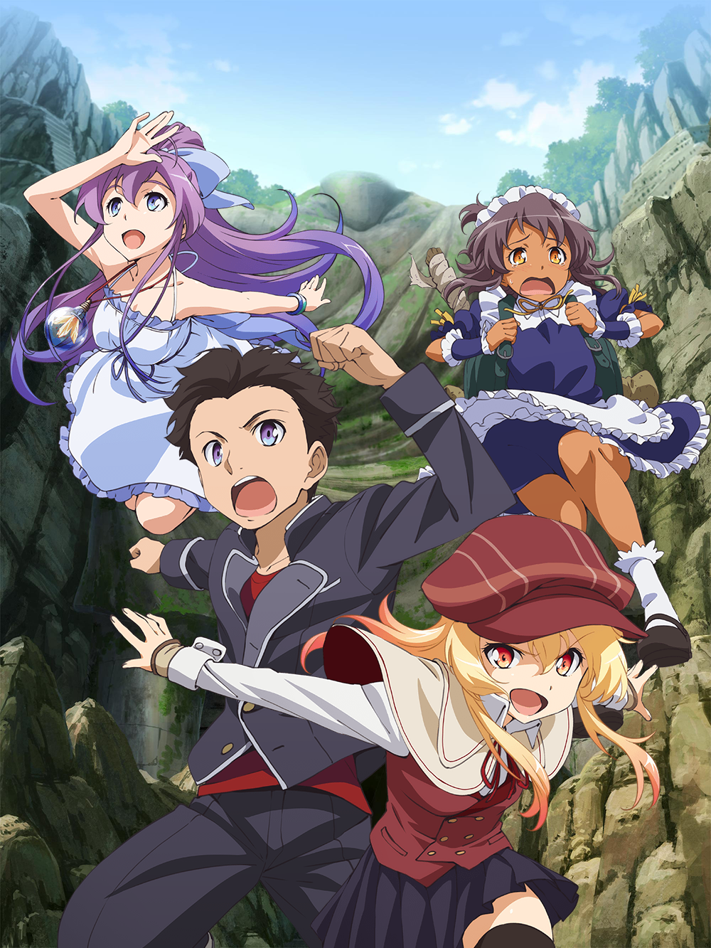 Nanana's Buried Treasure sur WAKANIM.TV !