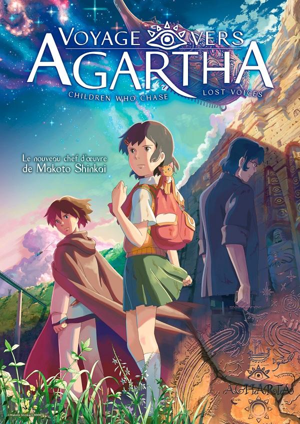 Affiche française de Voyage vers Agharta