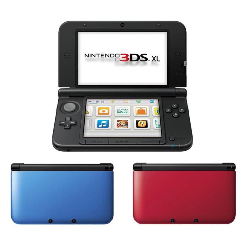 Nintendo 3DS en 3 coloris
