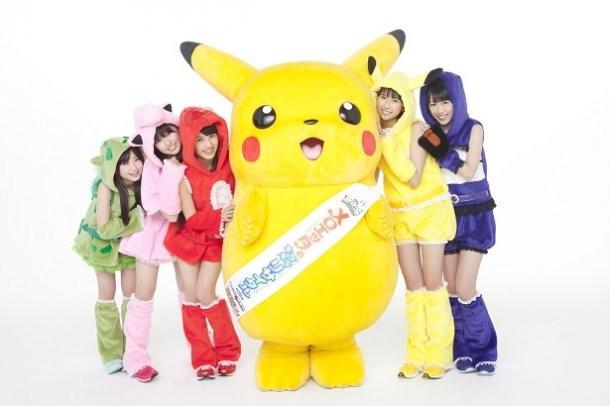Momoiro Clover Z x Pokémon