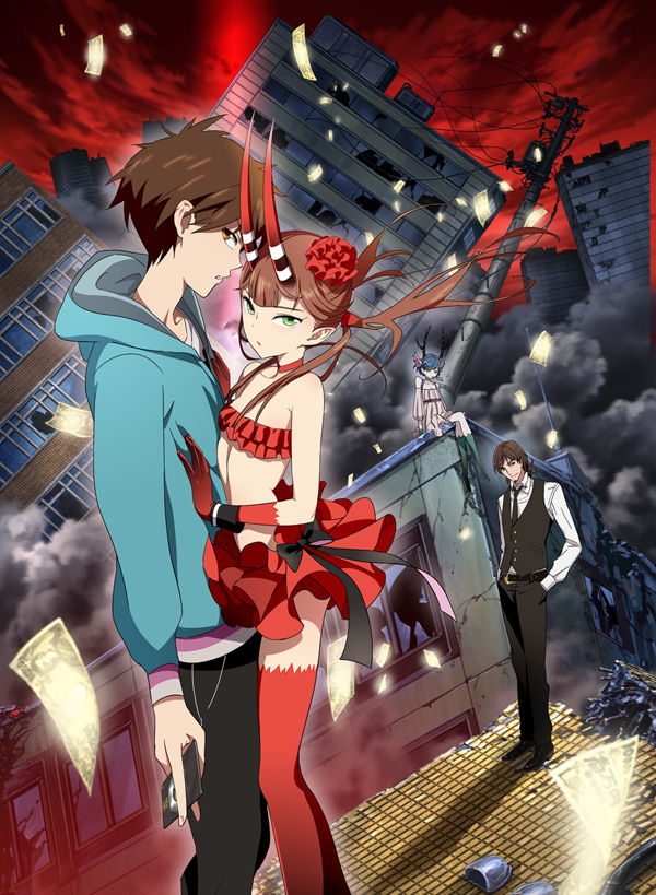 C Control Anime Characters : C the money of soul and possibility control anime review