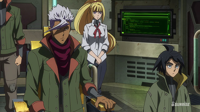 Mobile Suit Gundam : Iron-Blooded Orphans  Episode 07
