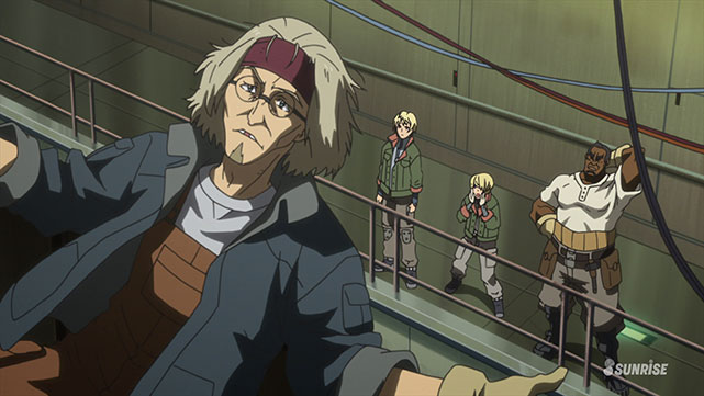 Mobile Suit Gundam : Iron-Blooded Orphans  Episode 09