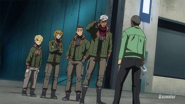 Mobile Suit Gundam : Iron-Blooded Orphans  Episode 15