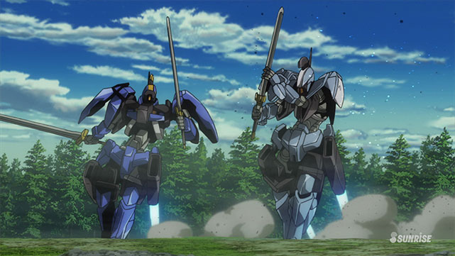 Mobile Suit Gundam : Iron-Blooded Orphans  Episode 32