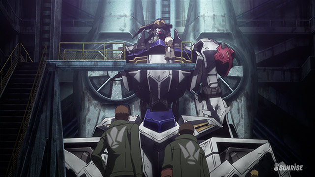 Mobile Suit Gundam : Iron-Blooded Orphans  Episode 38