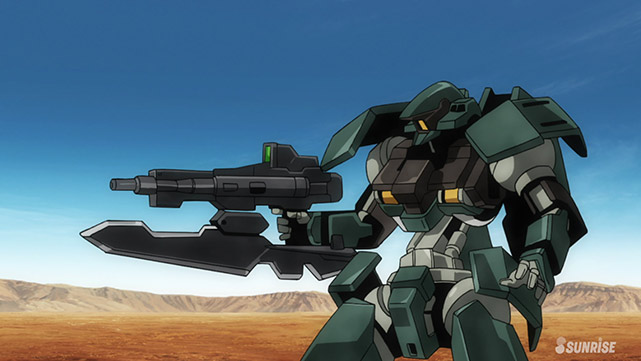 Mobile Suit Gundam : Iron-Blooded Orphans  Episode 36