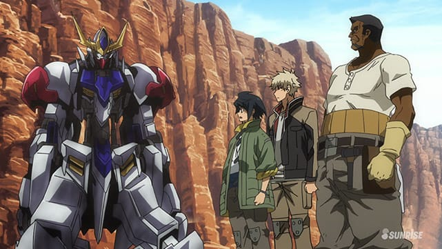 Mobile Suit Gundam : Iron-Blooded Orphans  Episode 37