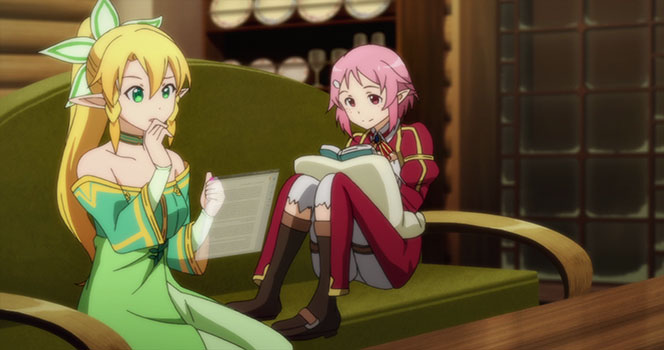Sword Art Online Episode 18