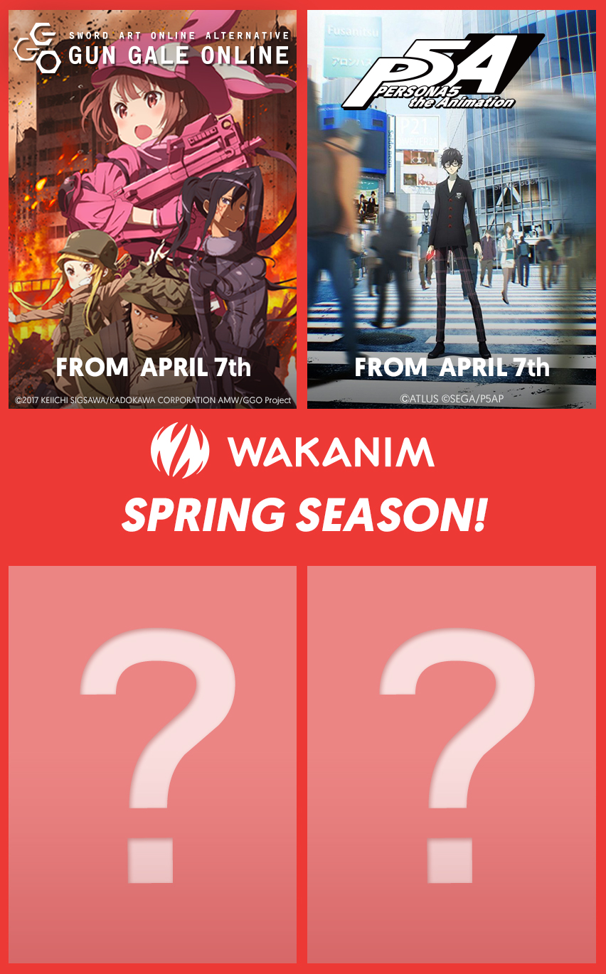Wakanim Spring Season 2018