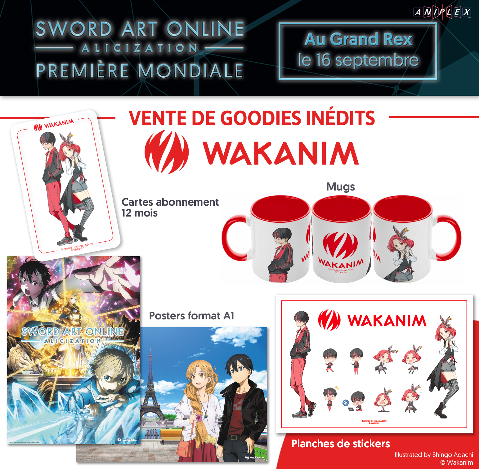 Goodies officiels Wakanim