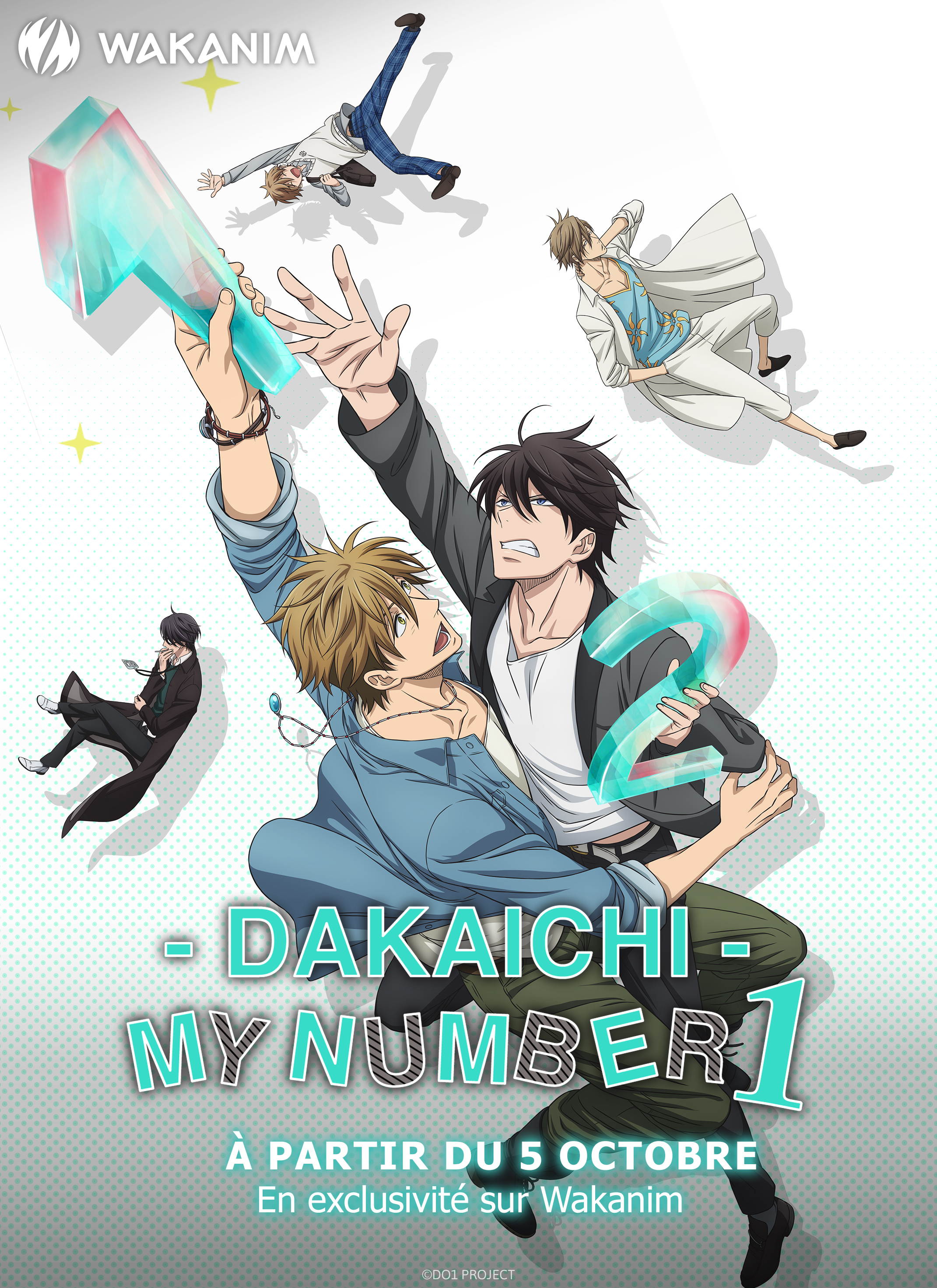 Dakaichi My Number 1 exclusively on Wakanim