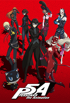 PERSONA5 the Animation - Anime streaming in English sub, in HD and legally  on Wakanim tv