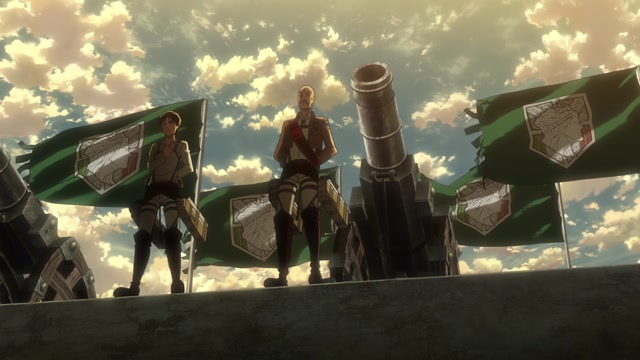 Атака титанов / Attack on Titan Серия 11